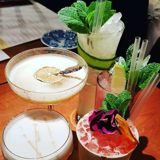 Cocktails at Sakagura