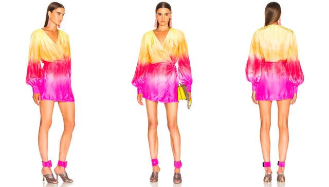 AtticoShort Robe Dress