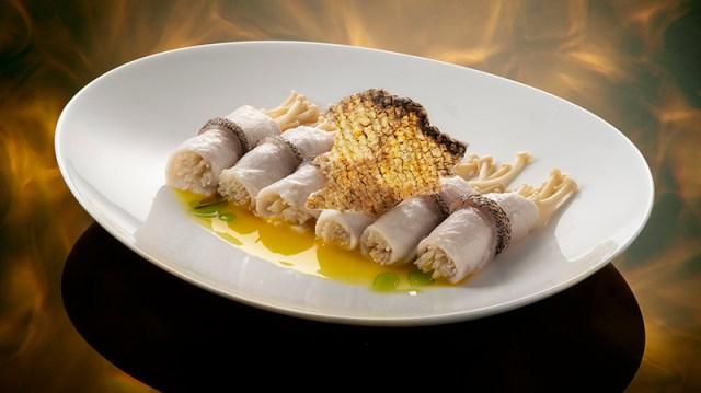 Hakkasan rolled fish for GW