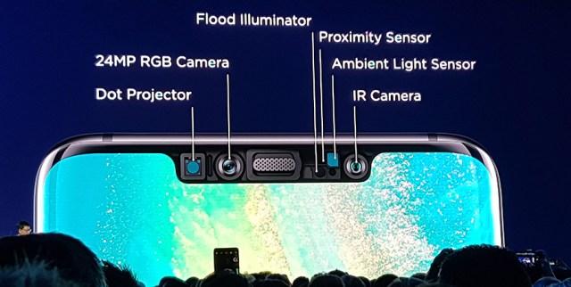 Huawei Mate 20 Pro - best selfie camera