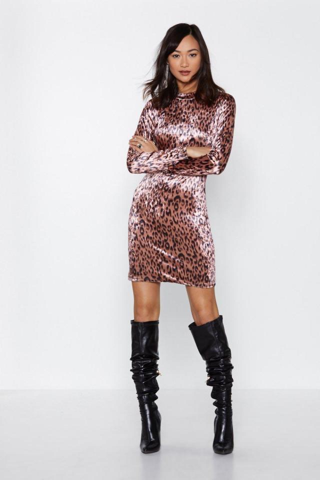 Bad Kitty Leopard Dress