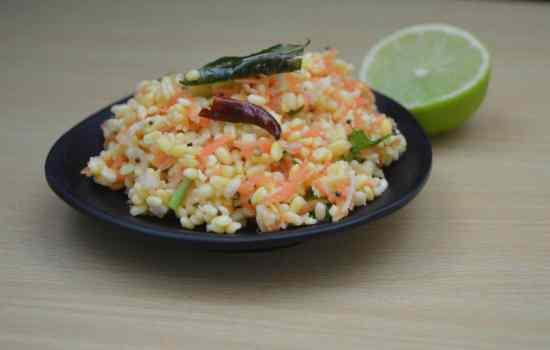 Carrot Kosambari | Indian Carrot Salad