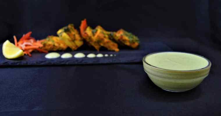 Restaurant Style Yogurt Mint Sauce