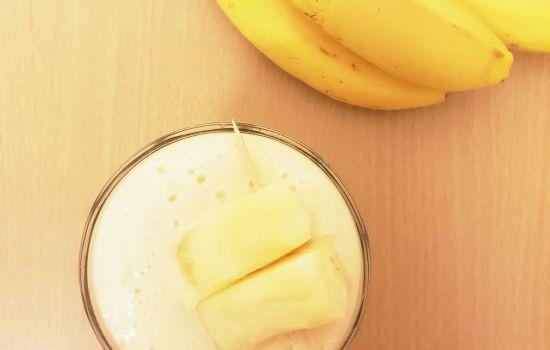 Pineapple Banana Smoothie (3 ingredients smoothie)