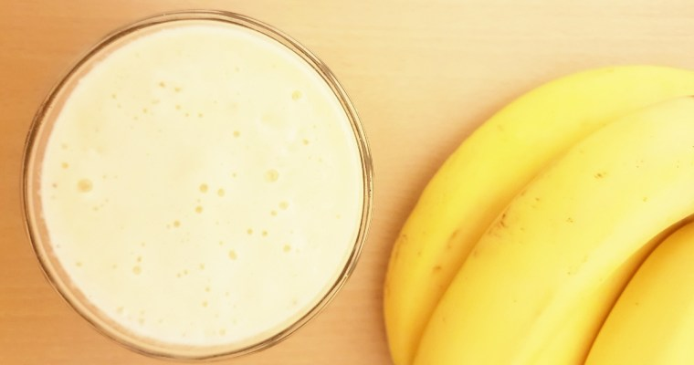 Pineapple Banana Smoothie (3 ingredients smoothie)