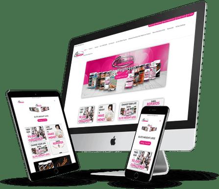 Elite Weight Loss Website Design