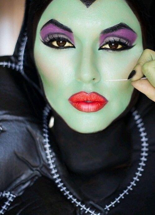 25 Maleficent Halloween Makeup Ideas Flawssy