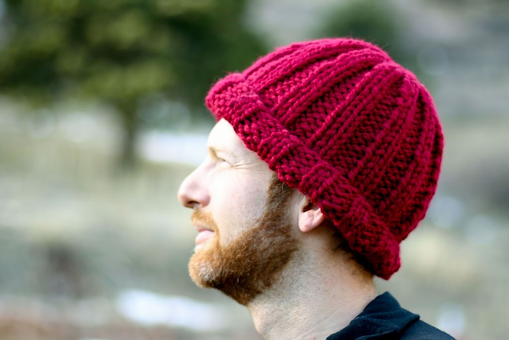 An Easy Ribbed Stocking Hat For Harrison A Year Of Handmade Gift