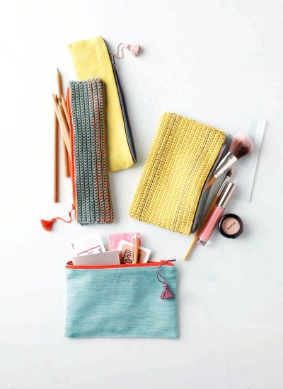 Crochet Zipper Pouch Pattern