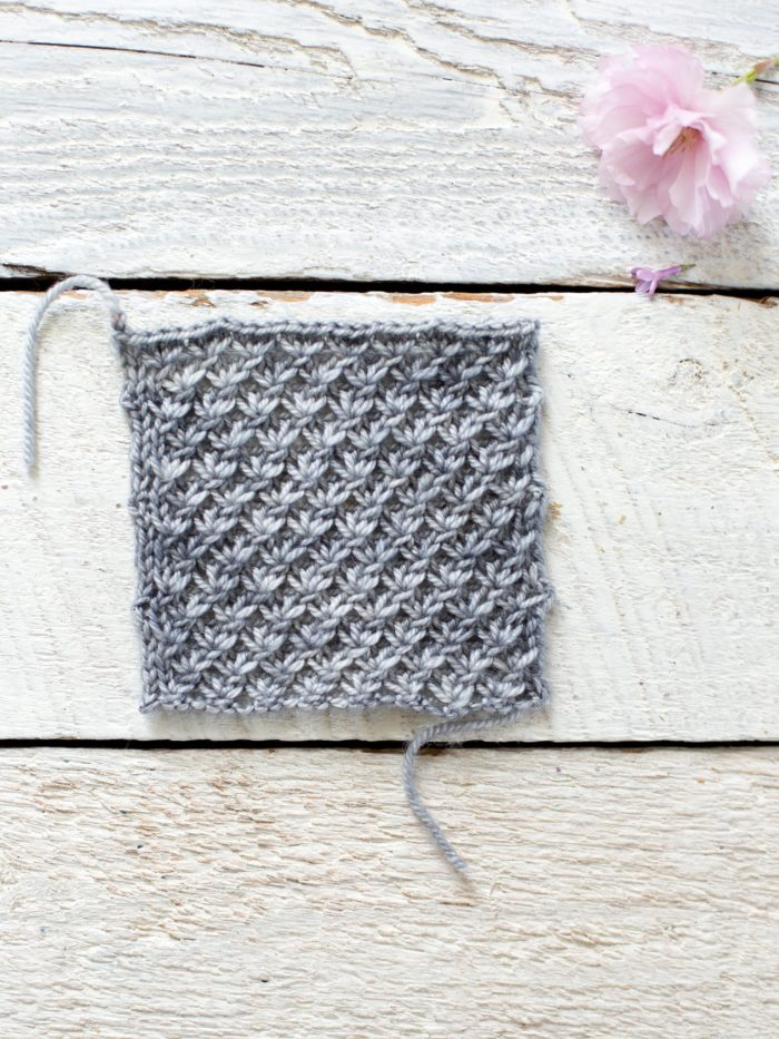 Knit Lace Shawl Pattern Easy : How To Make An Easy Lace Knit Shawl Pattern - Flax & Twine