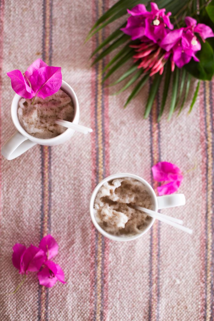 DIY Chocolate Chip Cookie Coffee Smoothie