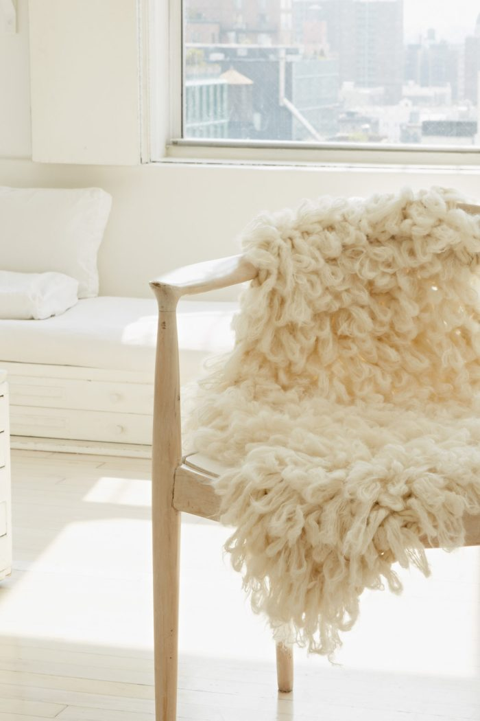 Faux Sheepskin    Arm Knitting Patterns from Knitting Without Needles by Anne Weil