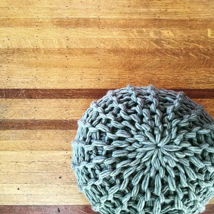 Fabulous Floor Pouf
