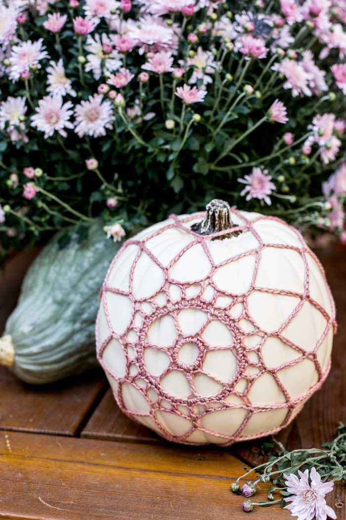 crochet pumpkin cover tutorial