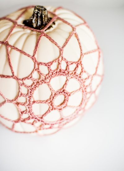 Crochet Pumpkin Cover Pattern and Tutorial