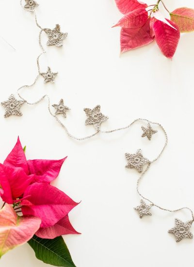 Simple Crochet Star Garland Tutorial