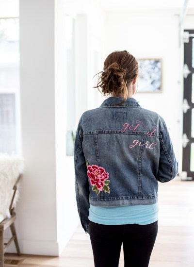 Make a Fabulous DIY Embellished Jean Jacket