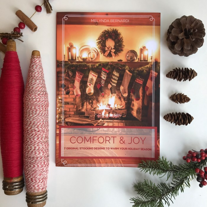 Comfort & Joy by Melynda Bernardi of French Press Knits