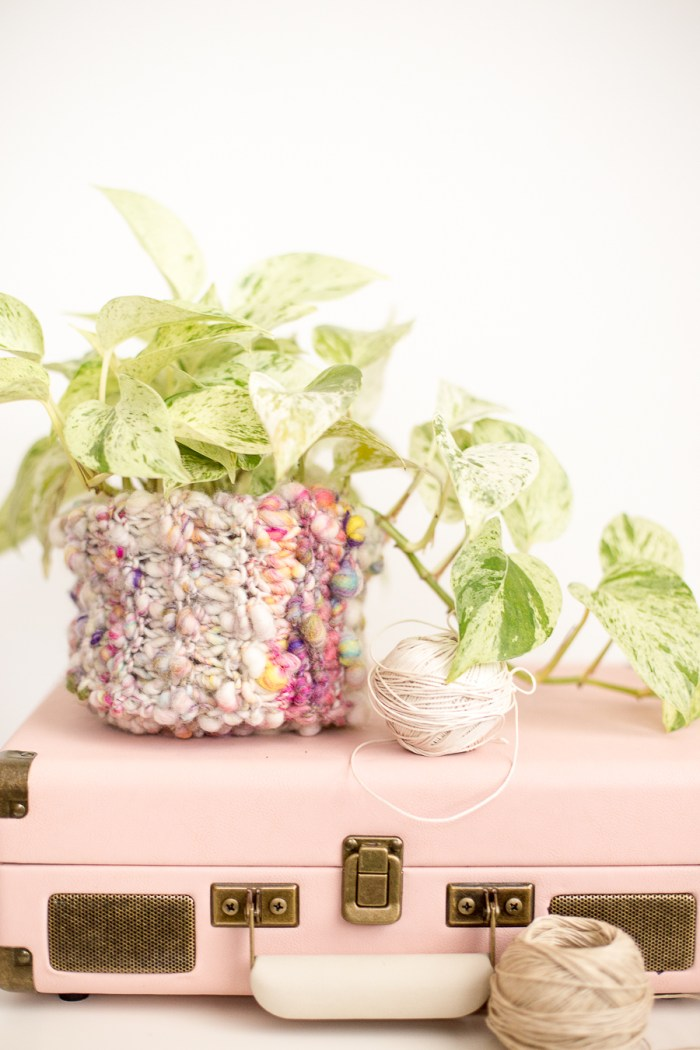 A Simple Knit Basket Pattern for Beginners