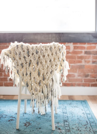 Take a Look! My Dash Shawl by Knit Collage