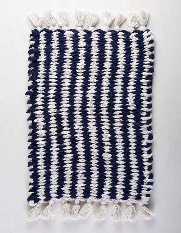 Woven Finger-Knit Rug Video Class with Anne Weil on Creativebug