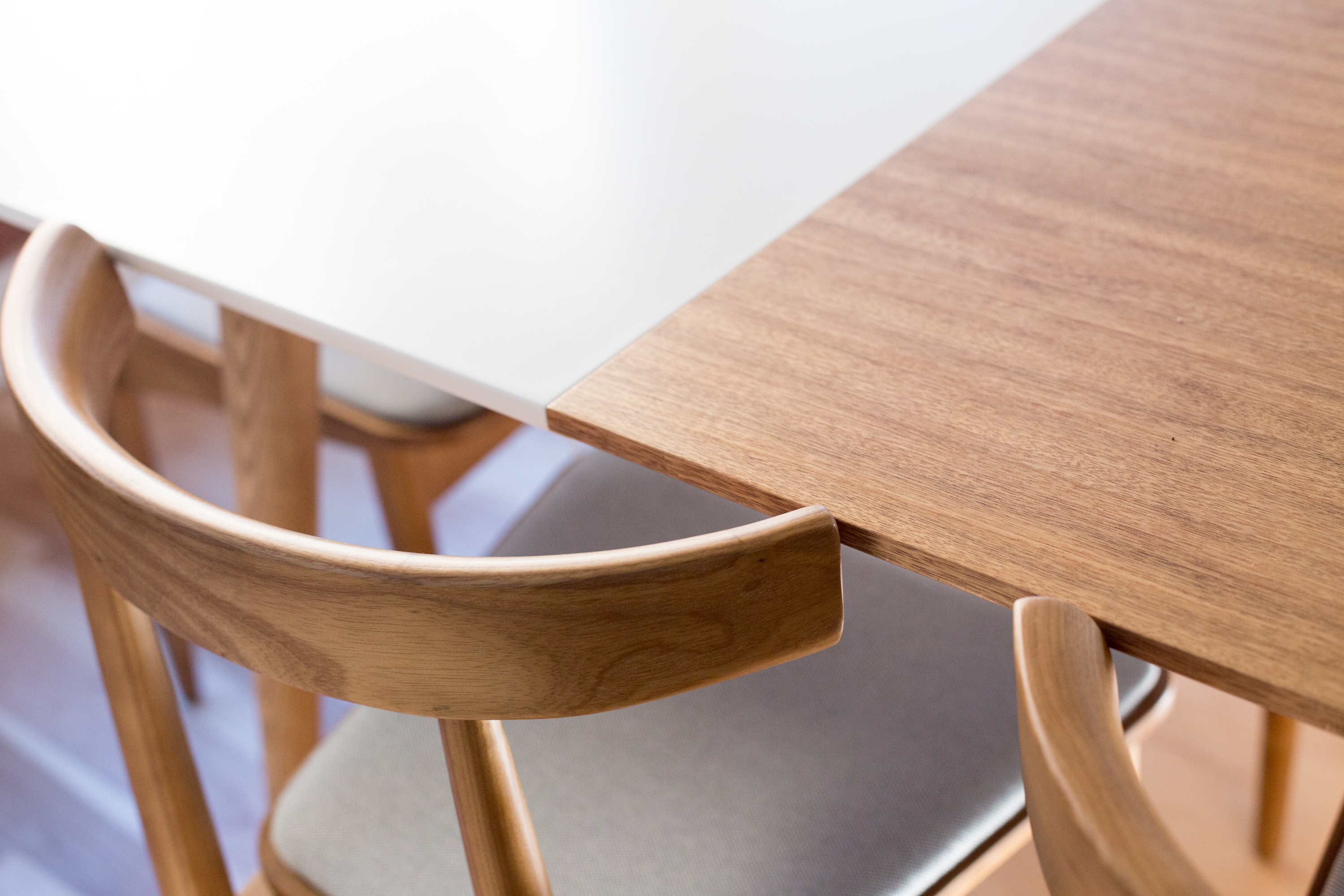 Popular Mid Century Modern Dining Table and Chairs Rove Concepts