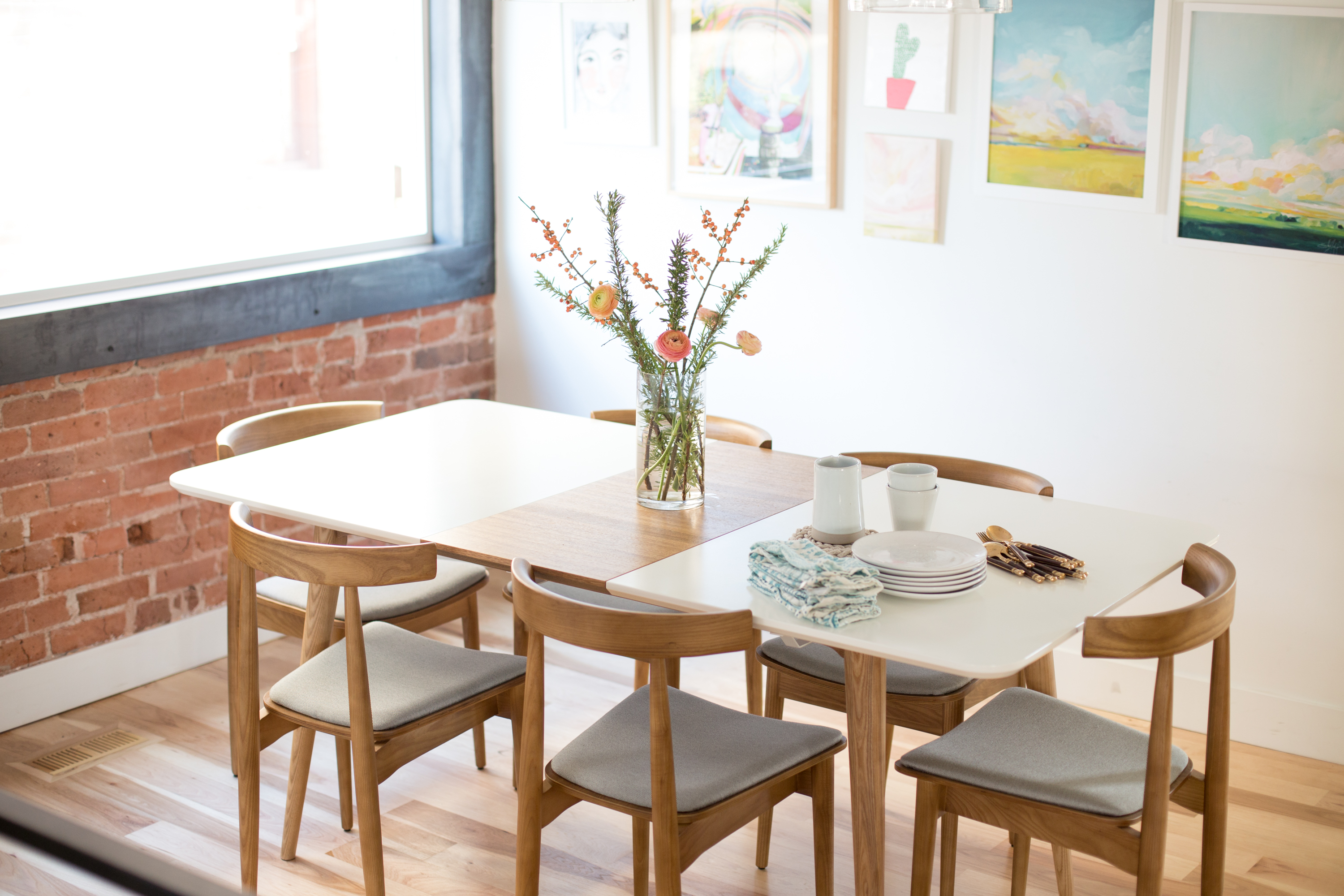 Marvelous Mid Century Modern Dining Table and Chairs Rove Concepts