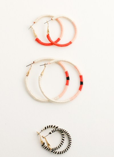 Embroidery Thread Wrapped Hoop Earrings DIY