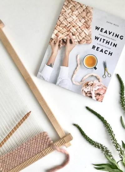 Frame Loom Weaving Projects from Weaving Within Reach
