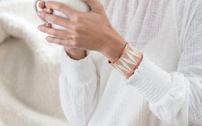 Woven Patterned Bracelet