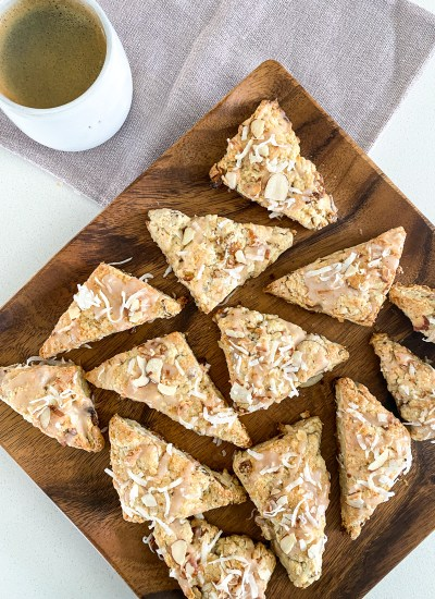 Apricot Scones Recipe and Farmhouse Weekends Book Review