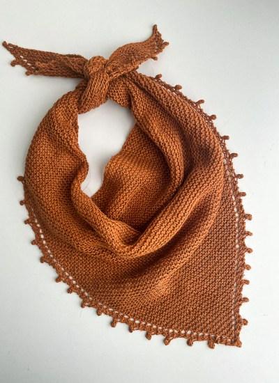 Announcing the Bennet Bandana – A Fabulous Knit Bandana