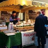 Flax Farm stall Borough Market 2015