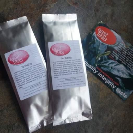 Traditional Nokcha organically produced organic green tea
