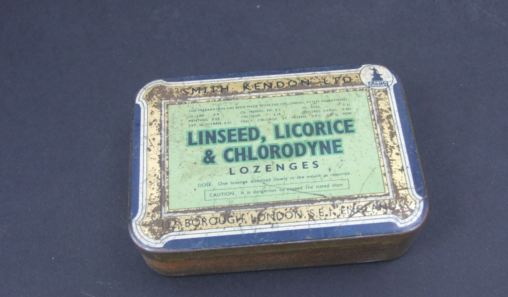 Linseed, liquorice and chlorodyne remedy