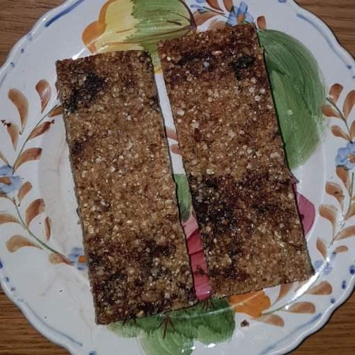 Dairy-free, Gluten-free, Vegan Flapjack, Linseed Flaxjack Date