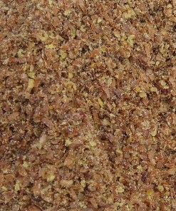 Ground bronze linseed