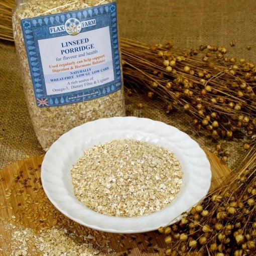 Linseed-porridge