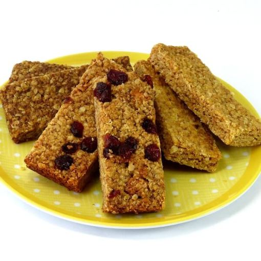 Traditional Flaxjacks delicious healthy gluten-free flapjacks with linseed