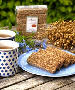 Low Sugar Flaxjacks Gluten-free Flapjacks