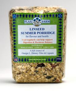 Summer linseeed porridge