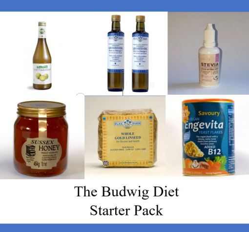 10 day Budwig Starter pack, FOCC, Flax oil and other components