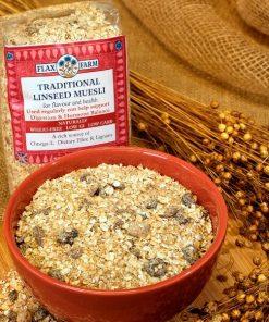 Linseed (Flax) Porridge & Muesli