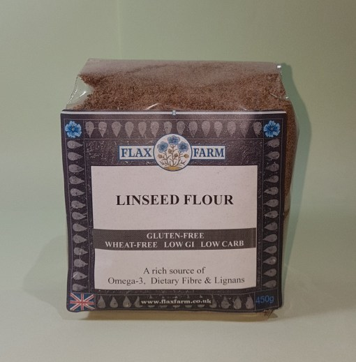 Linseed flour, concentrated lignans, high fibre, sugar-free, carb-free