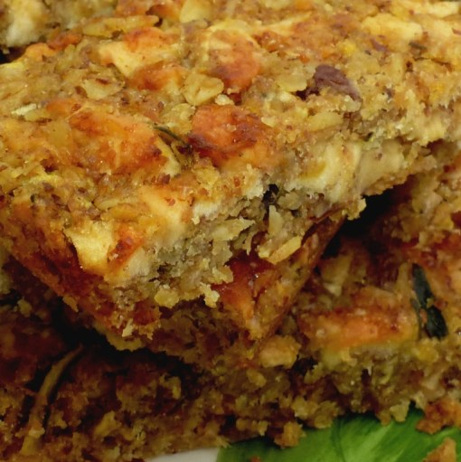 Courgette and apple cake flaxjacks, light super healthy and very delicious,