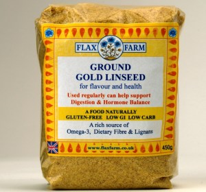Flax farm Ground Linseed is a low carb food: less than 1/3g of carbs per 20g helping.