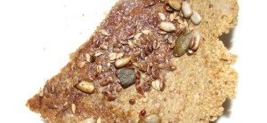 Marmite flax cracker with seeds gluten-free, wheat-free recipe