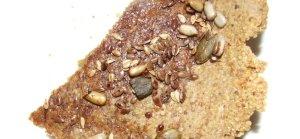 Marmite flax cracker with seeds gluten-free, wheat-free recipe