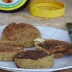 2 minute flax muffin - quick bread
