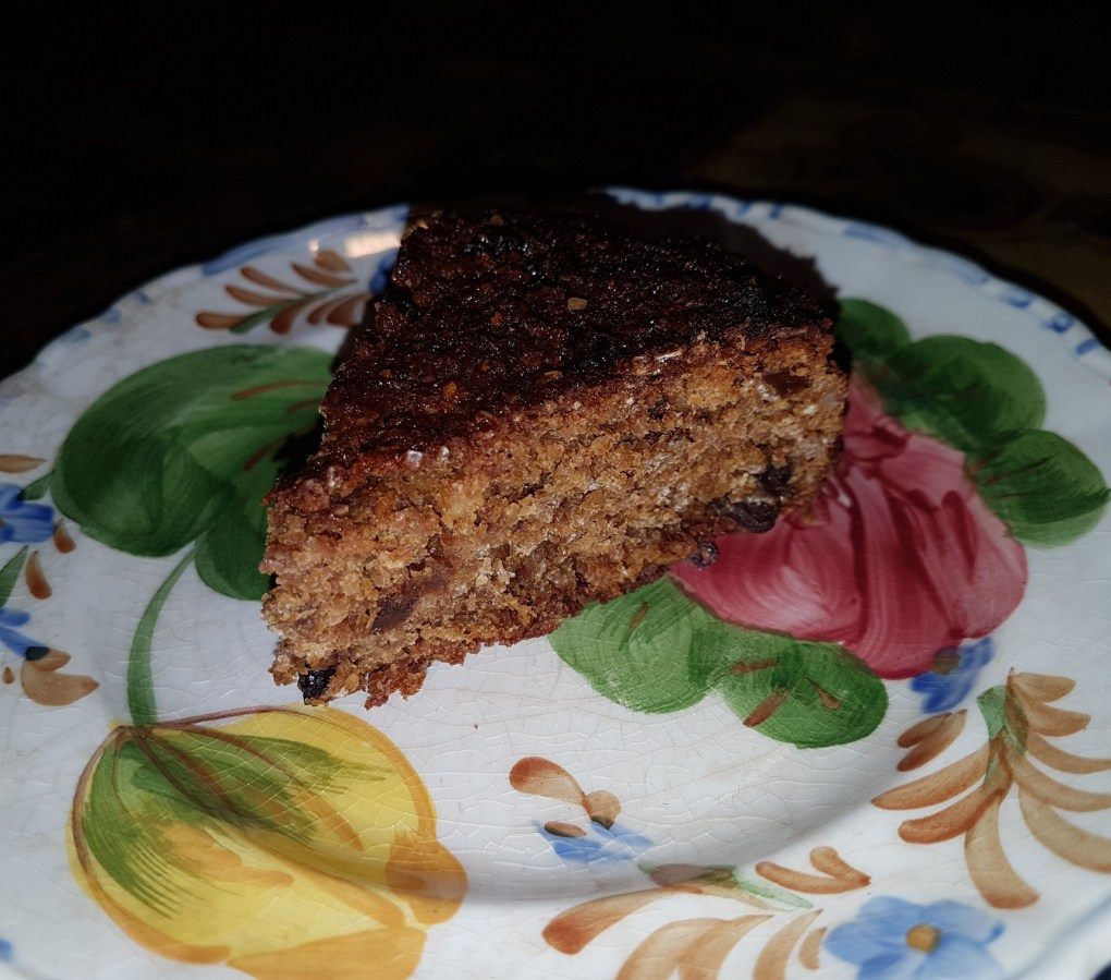 Wheat-free, gluten-free Mincemeat Christmas fruit cake recipe